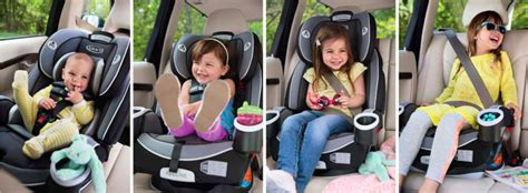 Graco 4ever All-in-one Convertible Car Seat 9 Shipped