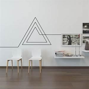 Wohnzimmer Wand Design : wohnzimmer wand aufkleber endlose geometrische von naturesrhapsody home pinterest wand ~ Sanjose-hotels-ca.com Haus und Dekorationen