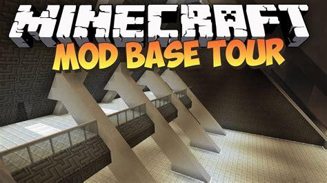ultimate modded minecraft base  youtube