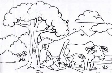 Contoh Gambar Mewarnai Lingkungan Sekolah Wallpaperworld1stcom