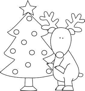 santa on his sleigh coloring pages coloring pages 613 | christmas coloring pages for preschoolers 282x300