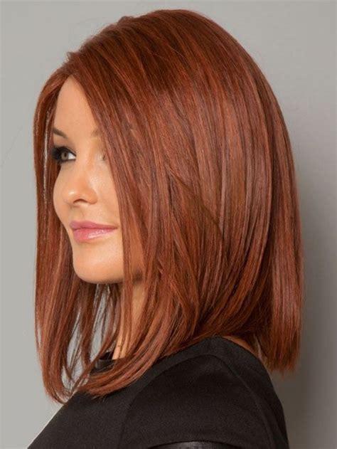 couleur de cheveux coiffure femme aux cheveux mi longs