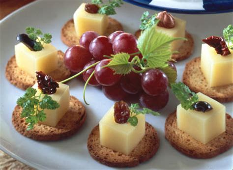 made com canapé canapés with gouda cheese recipe dairy goodness