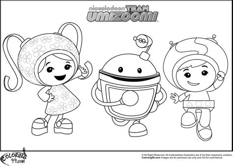 Coloring Umizoomi by Team Umizoomi Coloring Pages Free Enjoy Coloring