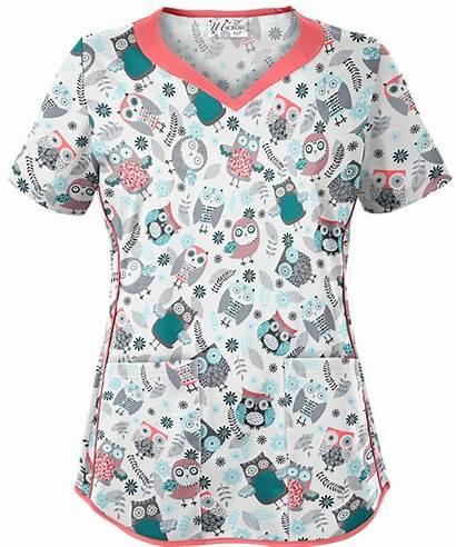 Scrub Scrubs Uniformadvantage Tops Nurse