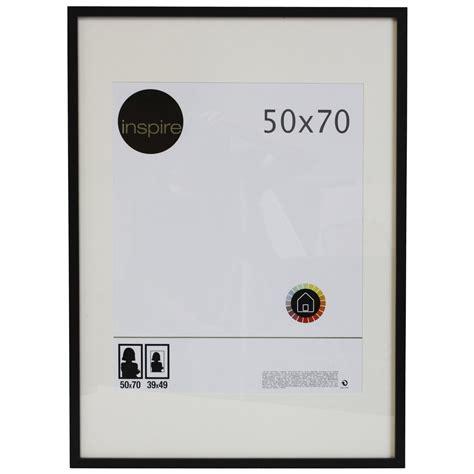cadre lario 50 x 70 cm noir noir n 176 0 leroy merlin