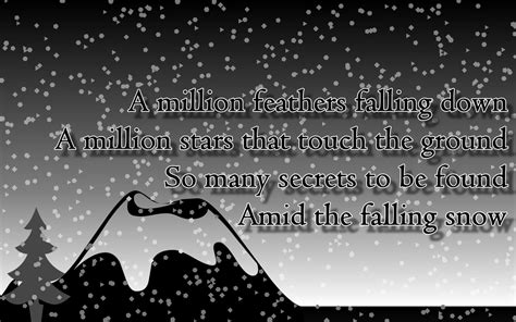 snow quotes beautiful snow quotes quotesgram