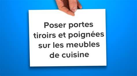 Poser Portes, Tiroirs Et Poignées Sur Les Meubles De