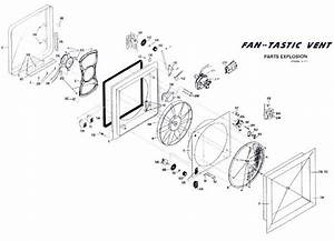 Partsdiagram Fantastic Vent Fan