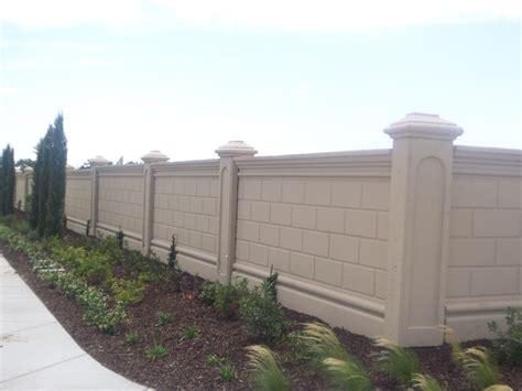 wall fence pictures renaissance precast concrete wall system