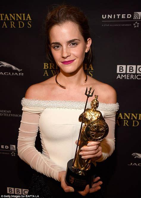 Emma Watson Leads The Winners Britannia Awards