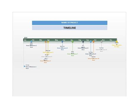 Timeline Template 33 Free Timeline Templates Excel Power Point Word