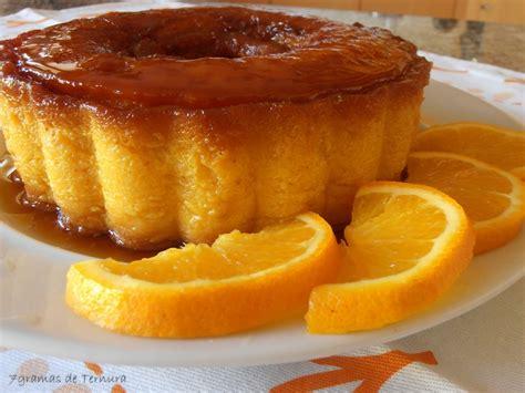 dessert portugais cuisine pudim de laranja receitas portuguesas