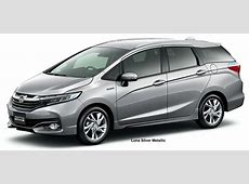 New Honda Shuttle Body colors, Full variation of exterior