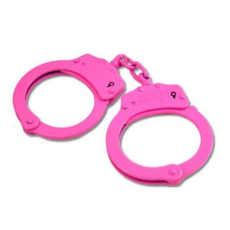 Pink Handcuffs Clipart