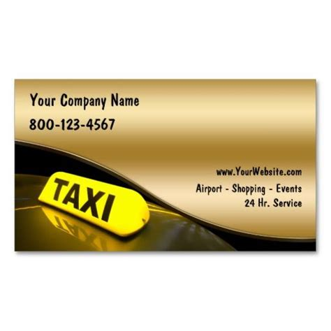 taxi business cards   images business cards