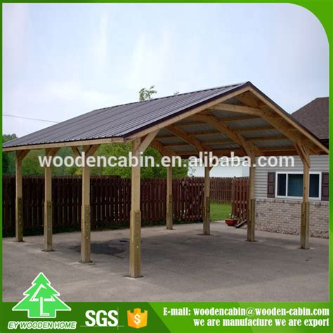 2 Car Carport Cost by Cheap Price Prefab Wooden Carport 2 Car Wooden Carport For