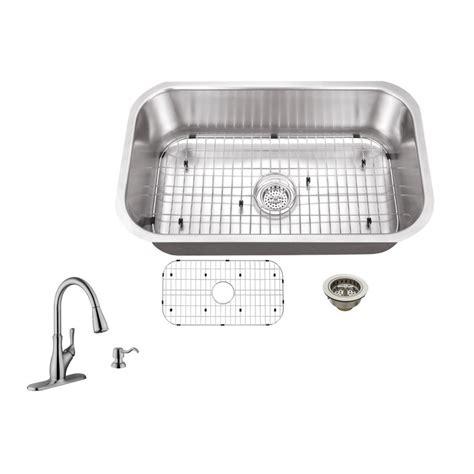 schon kitchen sinks schon all in one undermount stainless steel 30 in 0