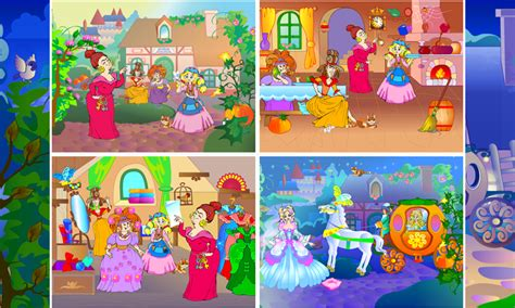 cinderella games for preschoolers cinderella classic tale app salute creator 517