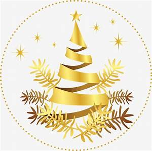 Golden Snowflake Christmas Tree, Golden, Christmas Tree ...