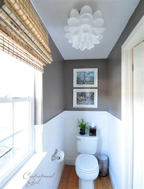 Polished Powder Room  Centsational Style