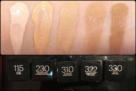 l shades me maybelline fit me foundation matte poreless swatches