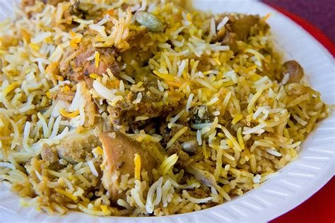 biryani indian cuisine hyderabadi biryani