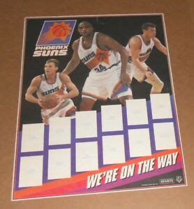 Charles barkley phoenix suns basketball sports art makes for a great gift and for use in man cave, sports room, bedroom, game room, bar, tribute room, and more. Phoenix Suns We're on the Way Poster 1993 Original 24x19 RARE Basketball | eBay