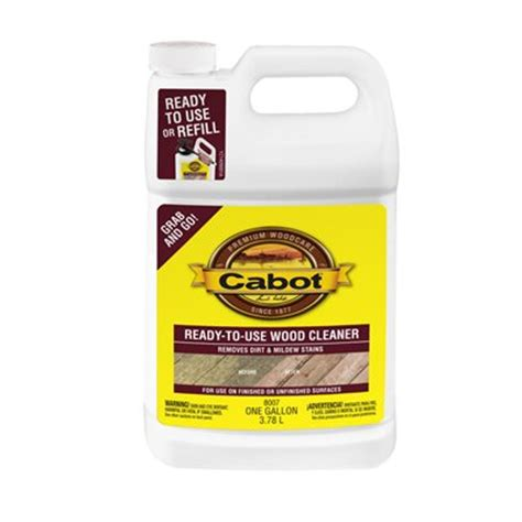 Lowes Canada Olympic Deck Cleaner by Cabot Ready To Use Deck Wash Wood Cleaner Lowe S Canada