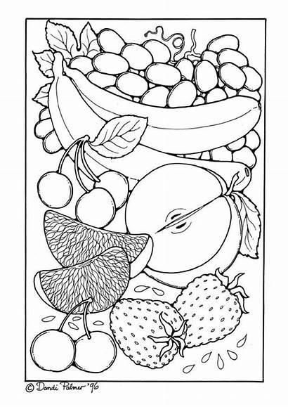 Fruit Kleurplaat Coloring Grote Afbeelding