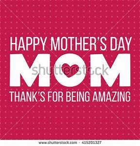 Mothers Day Mother Day Typographical Background Stock ...