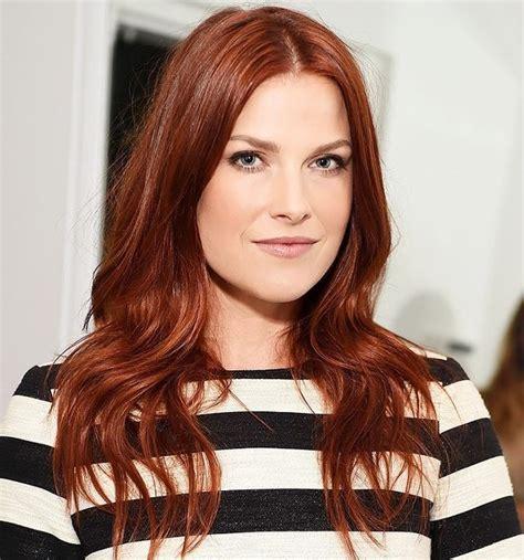 couleur cheveux auburn cheveux auburn coloration capillaire pour obtenir la couleur auburn