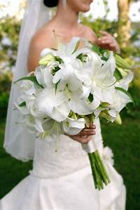White Lily Bride Bouquet | Wedding Flowers and Events ...