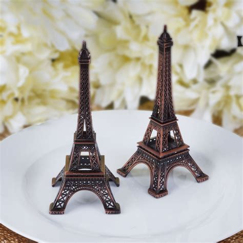 Tower Decorations by 6 Inches Eiffel Tower Centerpieces Wedding