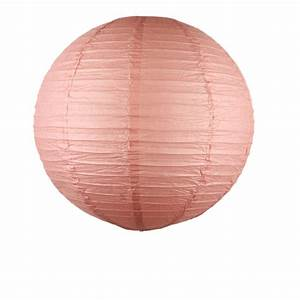 Boule Papier Luminaire : luminaire boule papier couleur rose blush 50 cm skylantern fr ~ Teatrodelosmanantiales.com Idées de Décoration