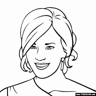 Coloring Pages Carrie Underwood Colouring Printable Thecolor