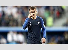 FIFA World Cup 2018 France vs Belgium Griezmann France