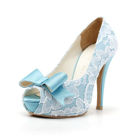 Light Blue Wedding Shoes The Beauty Of The Sky