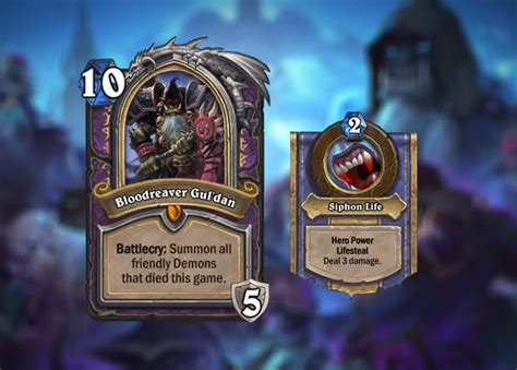 Warlock Hearthstone Deck Frozen by Hearthstone Knights Of The Frozen Throne Analyzing