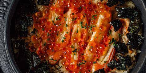 crab kamameshi recipe great british chefs