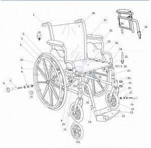 Cruiser Iii Wheelchair Replacement Parts By Drive Medical