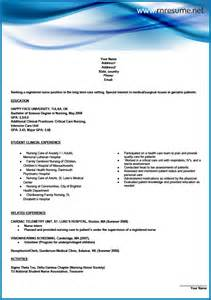 nursing assistant resume cover letter sle rn sle