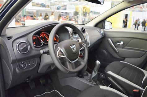 2017 dacia sandero interior at 2016 bologna motor show indian autos