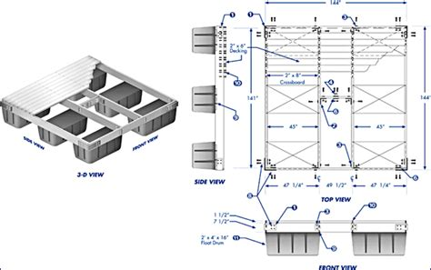 10x10 Floating Deck Plans by Kitguy The S Largest Most Complete Kit Project