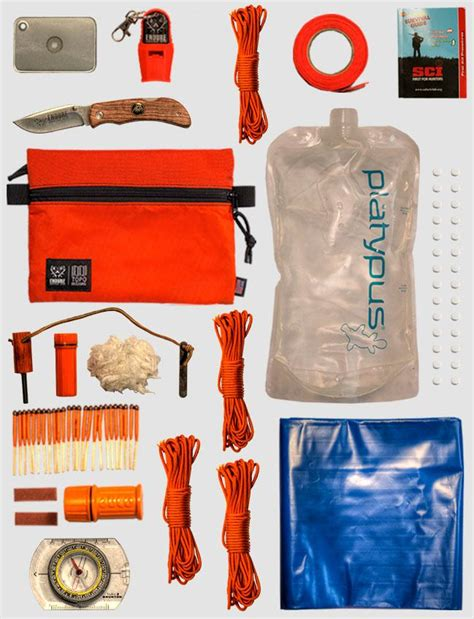 kit survival wilderness comprehensive aid easily essentials portable contain should cart kits