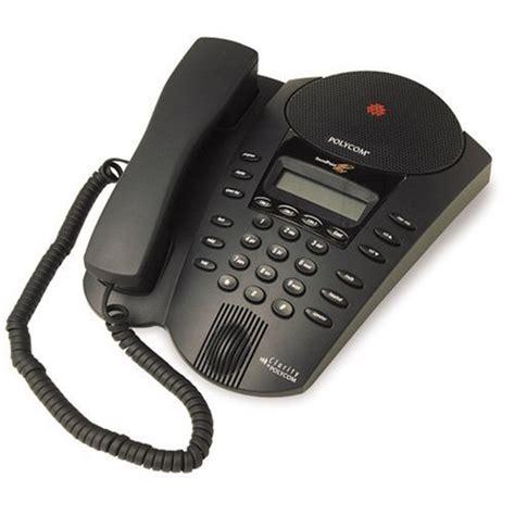 Polycom Soundpoint Pro Se 225 2 Line Conference Phone Ebay