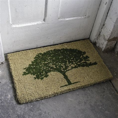 Buy Doormat by Buy Coir Oak Tree Doormat The Worm That Turned