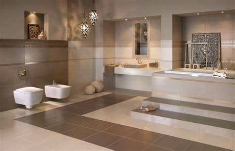 couleur de salle de bain moderne le marron couleur