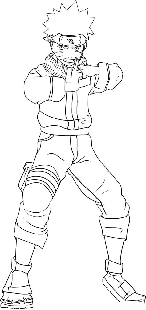 printable naruto coloring pages  kids