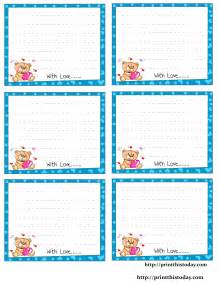 Free Printable Love Notes for Him